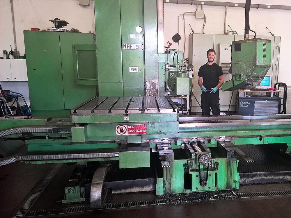 Ingenia Rimini - Attività: meccanica
