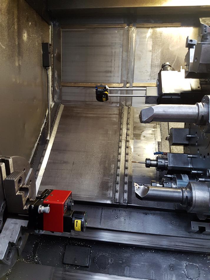 Calibrazione laser lineare © Ingenia