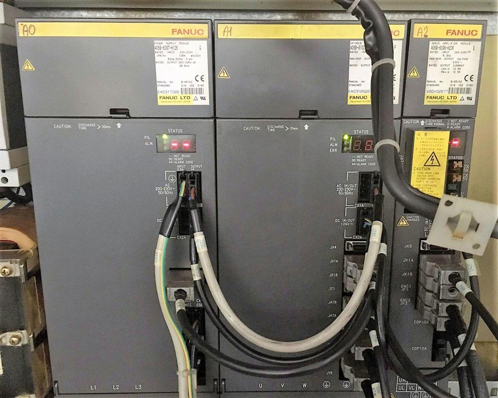 Alimentatore FANUC A06B-6087-H126 e azionamento A06B-6096-H206 © Ingenia
