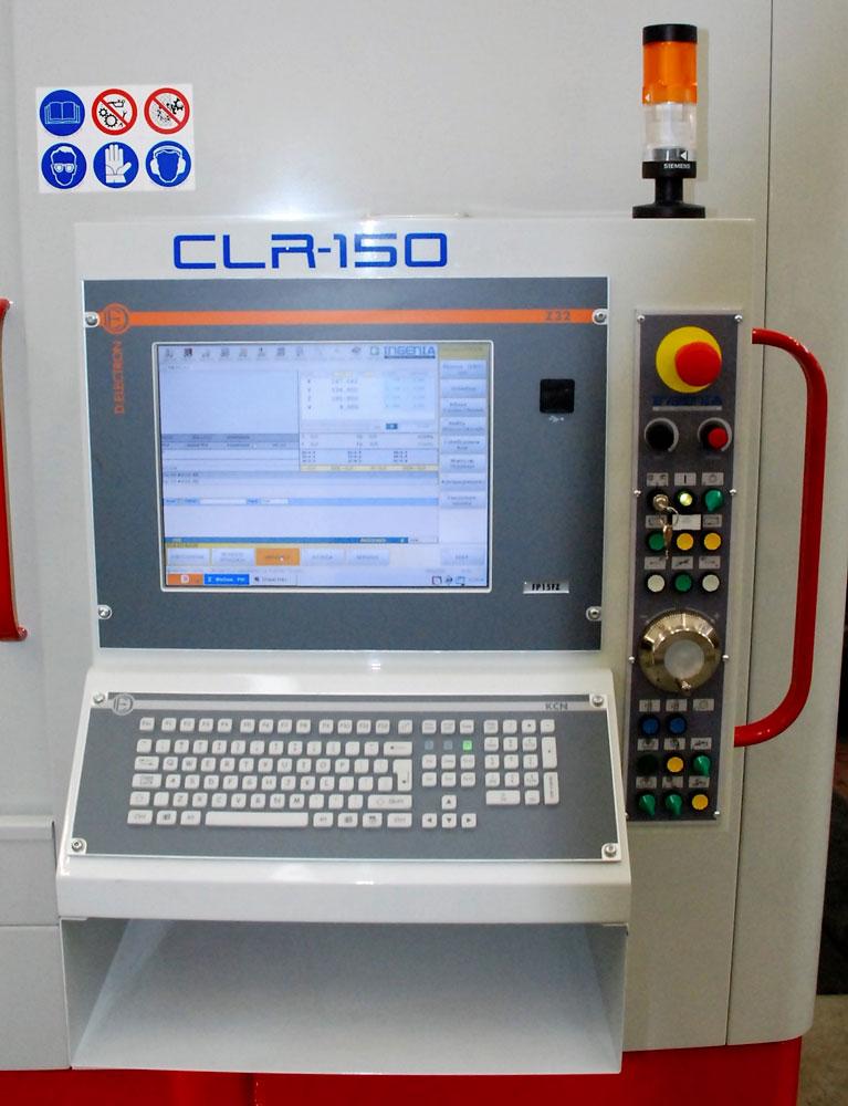 CNC D.ELECTRON Z32 CLR 150CN SELCA S4040DH © Ingenia