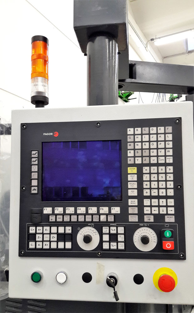 CNC FAGOR per tornio © Ingenia