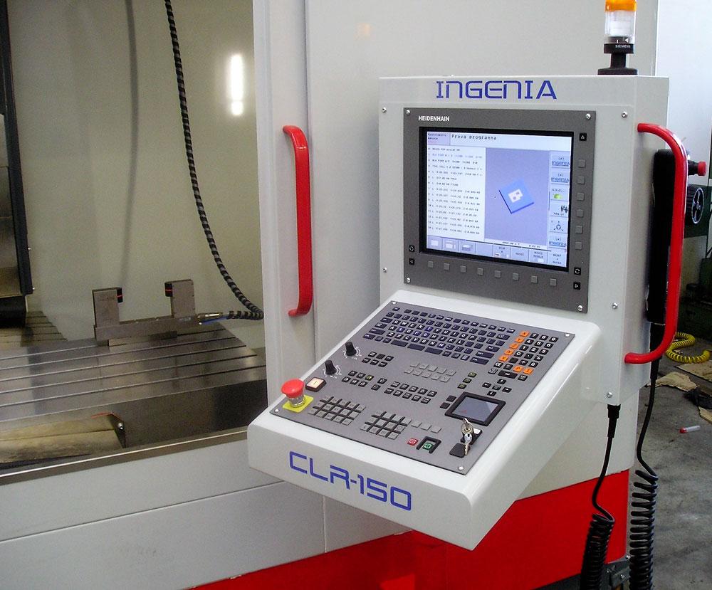 CNC HEIDENHAIN CLR 150 © Ingenia