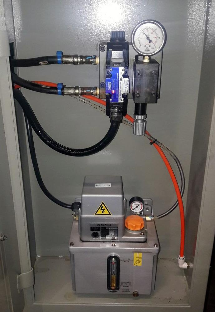 Centralina lubrificazione revisionata © Ingenia