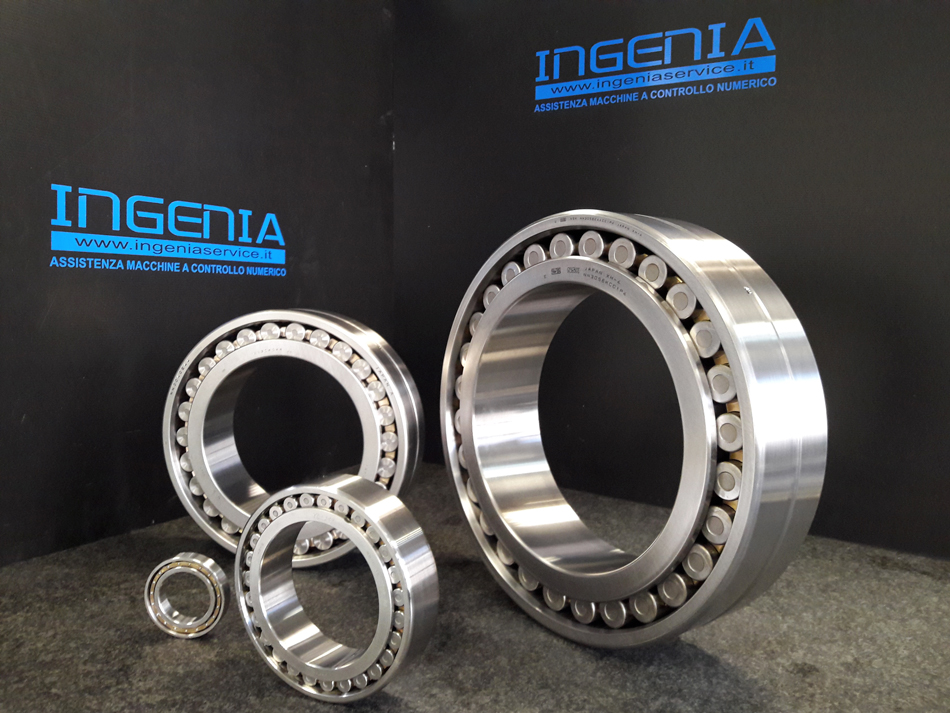 Fornitura cuscinetti © Ingenia