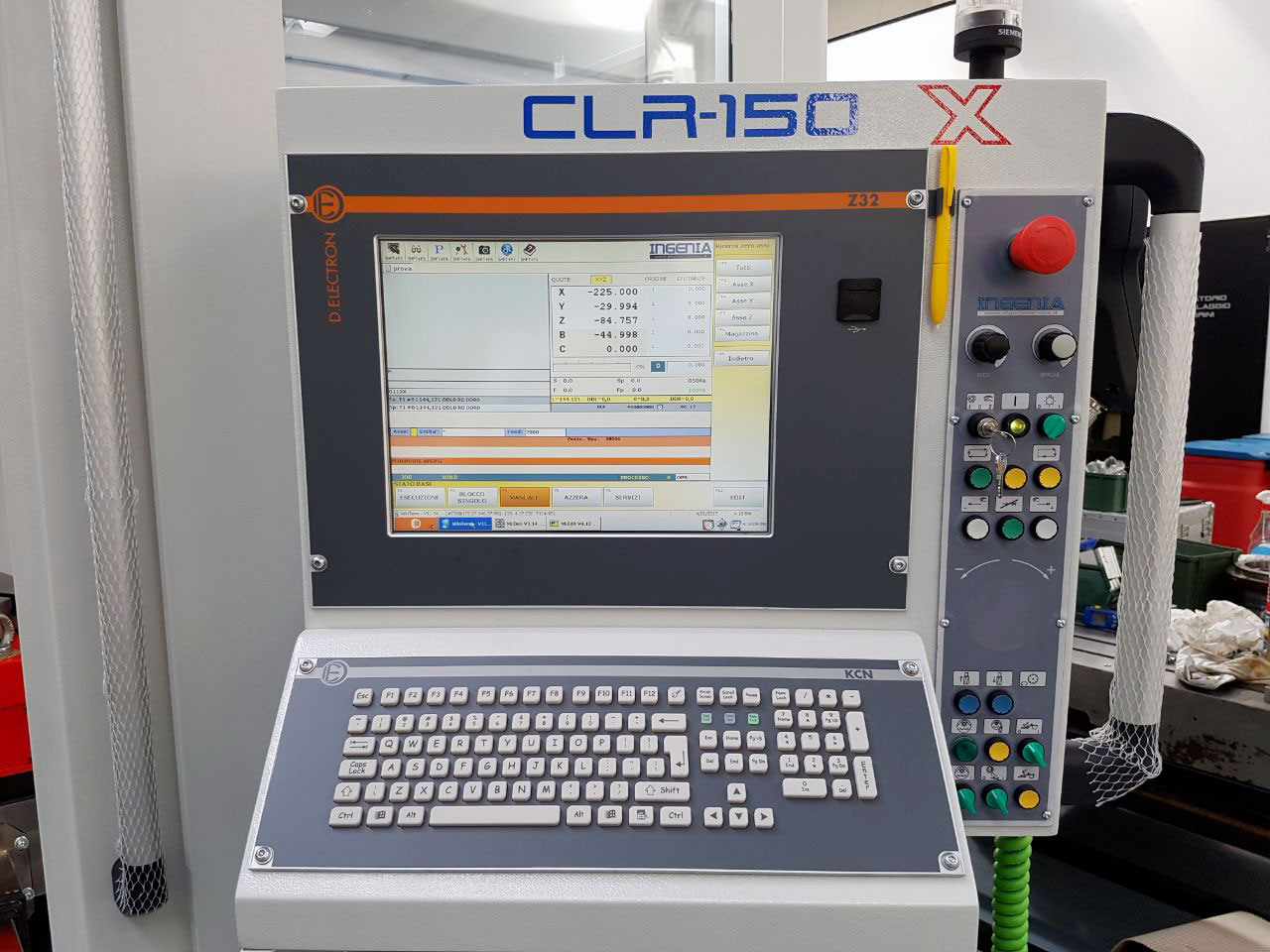 CNC D.ELECTRON Z32 CLR 150 X © Ingenia