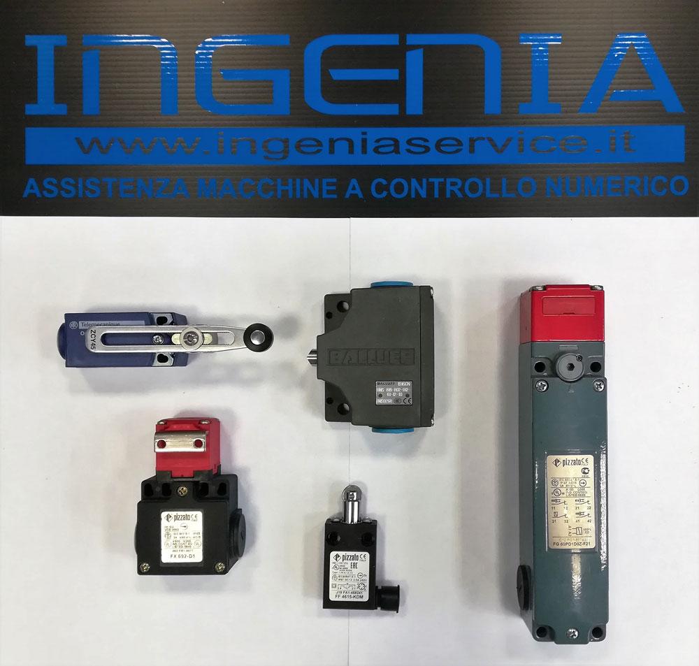 Micro finecorsa e sicurezza BALUFF, PIZZATO, TELEMECANIQUE © Ingenia