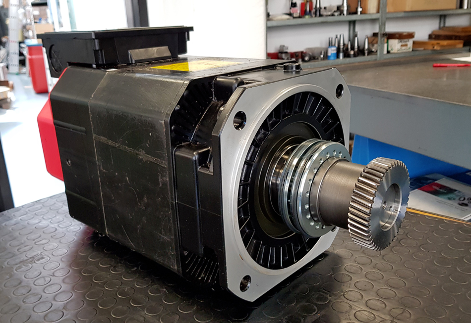 Revisione motore mandrini FANUC © Ingenia
