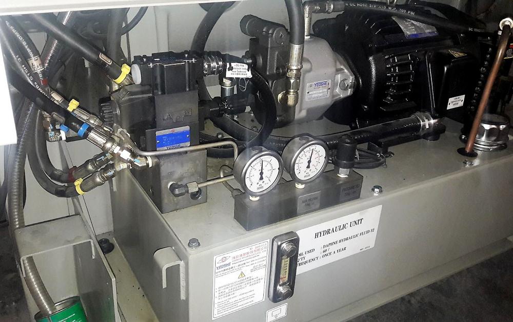 Revisione centralina idraulica YEOSHE © Ingenia