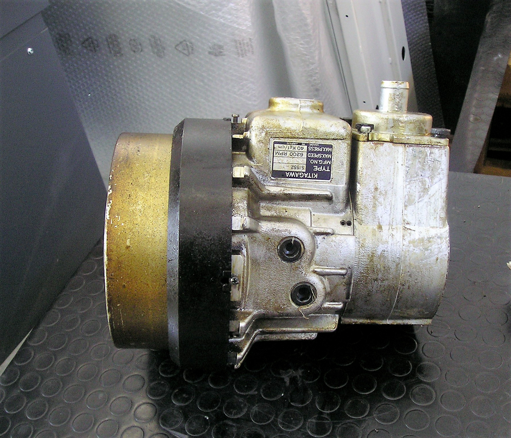 Revisione cilindro bloccaggio idraulico KITAGAWA 51522 © Ingenia