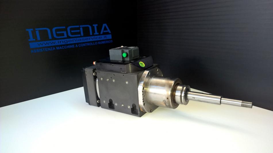 Revisione elettromandrino © Ingenia
