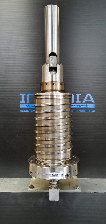 Revisione mandrino MAZAK © Ingenia