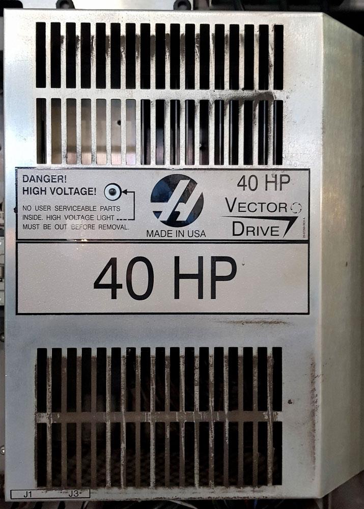 Azionamento mandrino HAAS VECTROR DRIVE 40HP © Ingenia