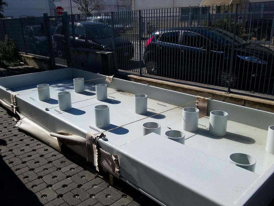 Realizzazione nuova vasca per tornio © Ingenia