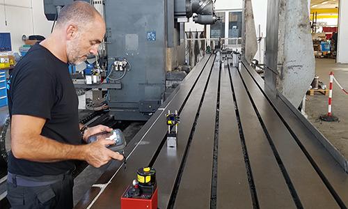 Ingenia - Attività: Servizi - calibrazione laser lineare