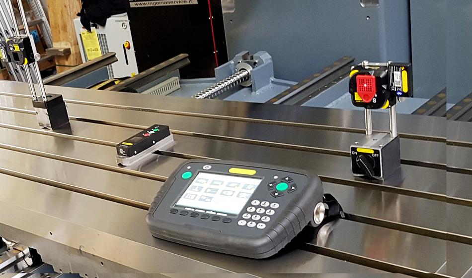 Kit sistema Laser © Ingenia