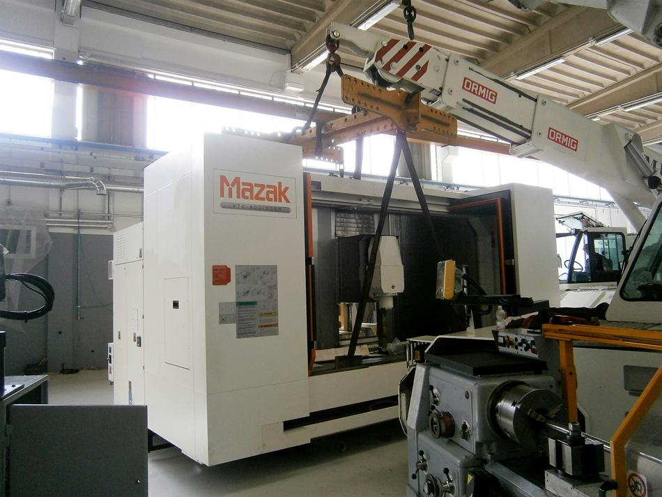 Spostamento MAZAK VTC 800 30SR © Ingenia