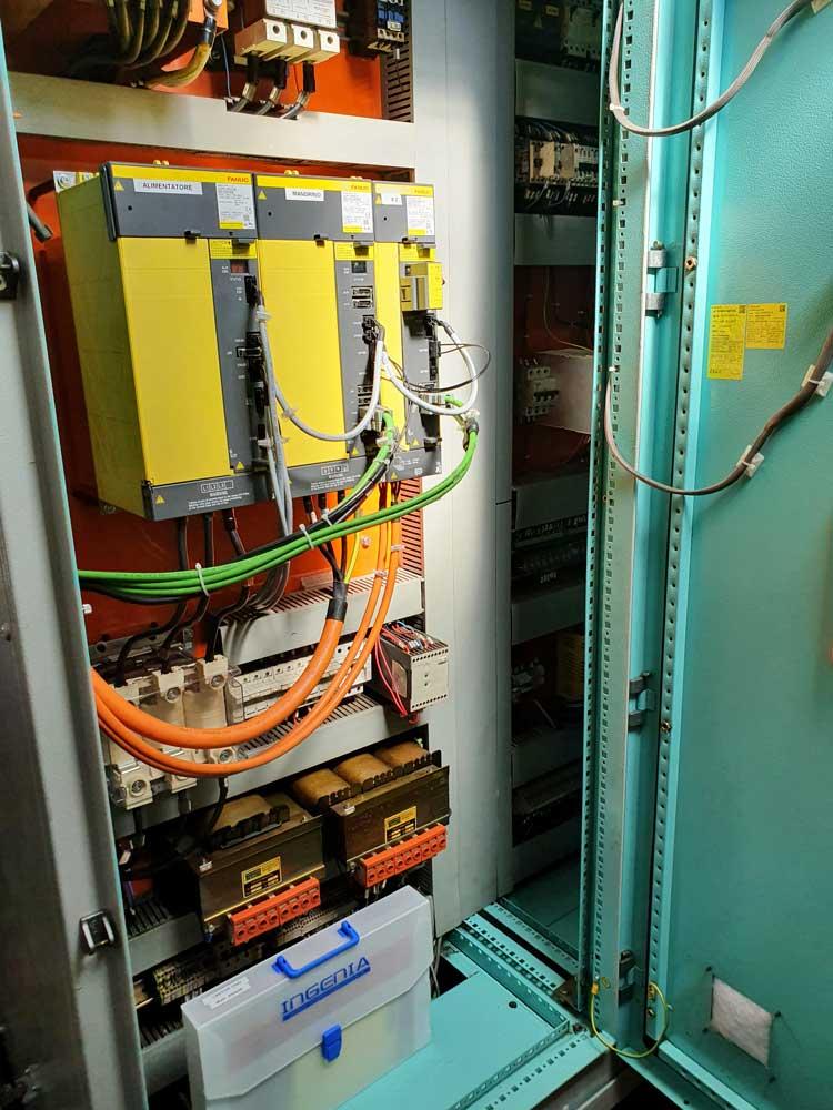 Adeguamento quadro elettrico con nuovi azionamenti FANUC © Ingenia
