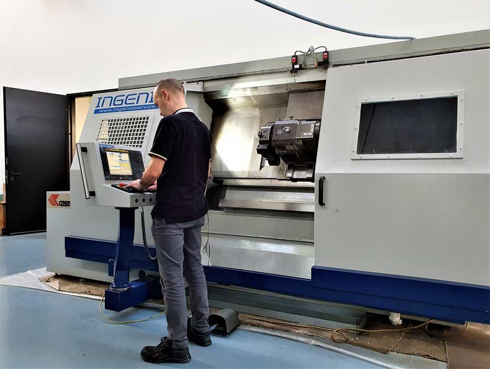 Corso di formazione su CNC FANUC Oi TF © Ingenia
