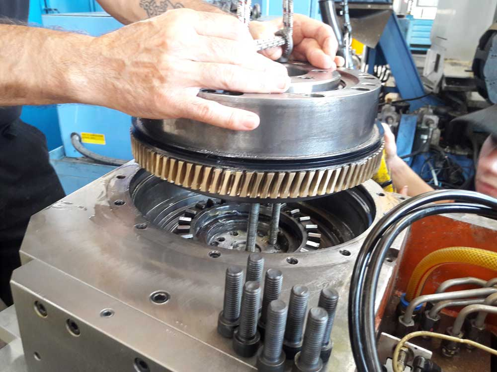 Montaggio meccanico Mazak Integrex © Ingenia