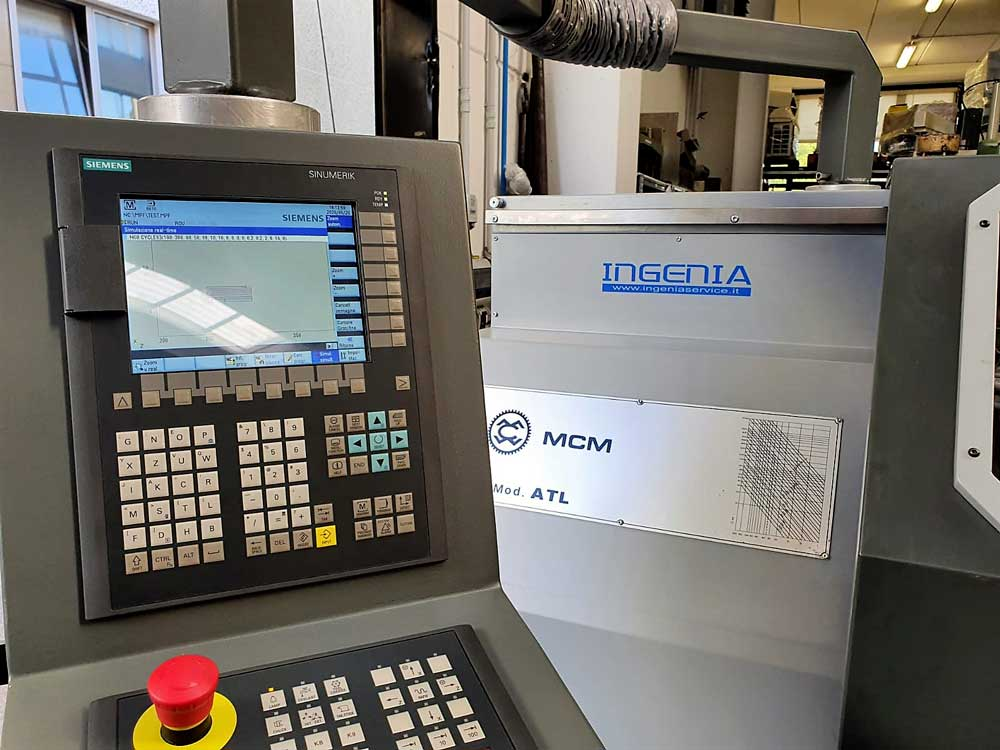 Pulpito CNC SIEMENS 840D 2 © Ingenia