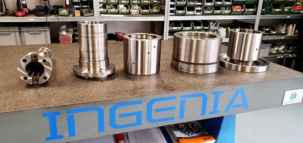 Rettifica e cromatura componenti meccanici © Ingenia
