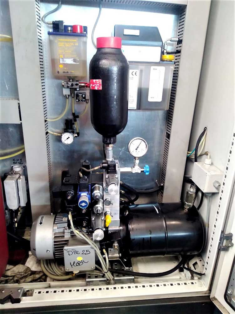 Revisione centralina idraulica CL Promac Zephir © Ingenia