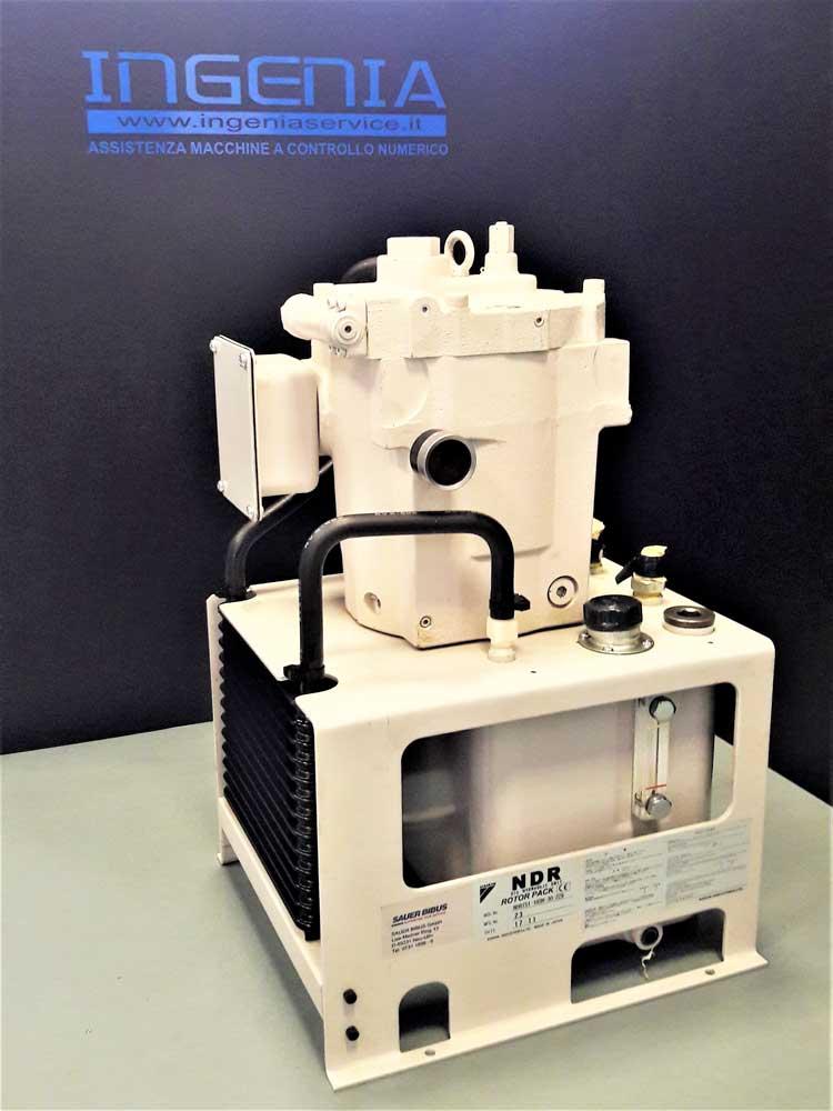 Revisione centralina idraulica Daikin RP15-A1-22-30-001 © Ingenia