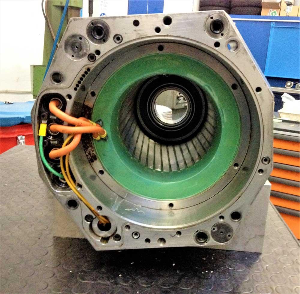 Revisione elettromandrino JOBS 38KW 6000 RPM HSK80 © Ingenia