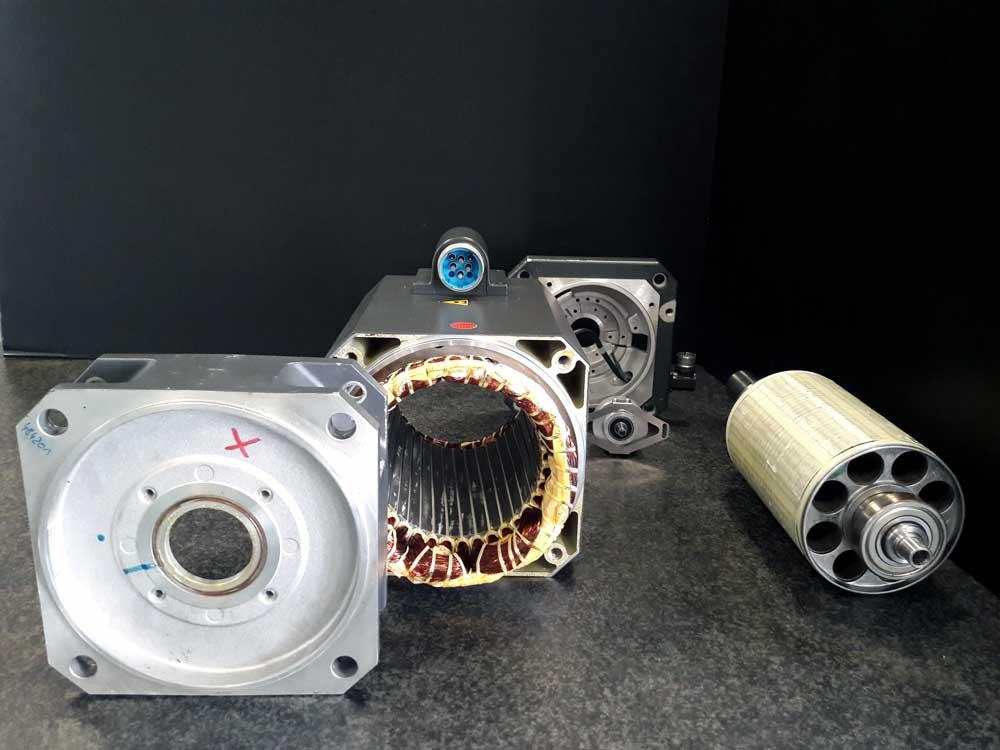 Revisione motore Siemens 1FT6105 1AC71 1AG1 © Ingenia