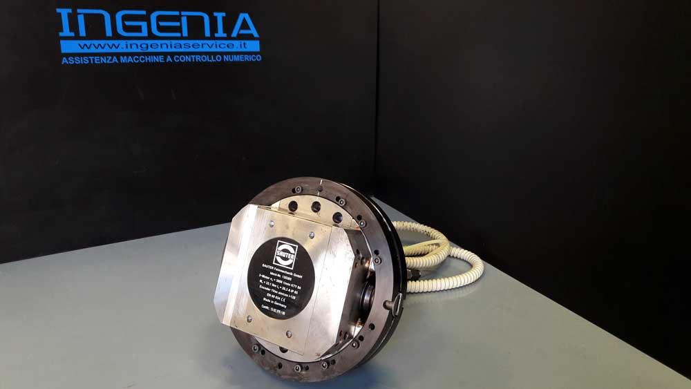 Revisione rinvio motorizzato SAUTER torretta tornio Biglia B465 © Ingenia