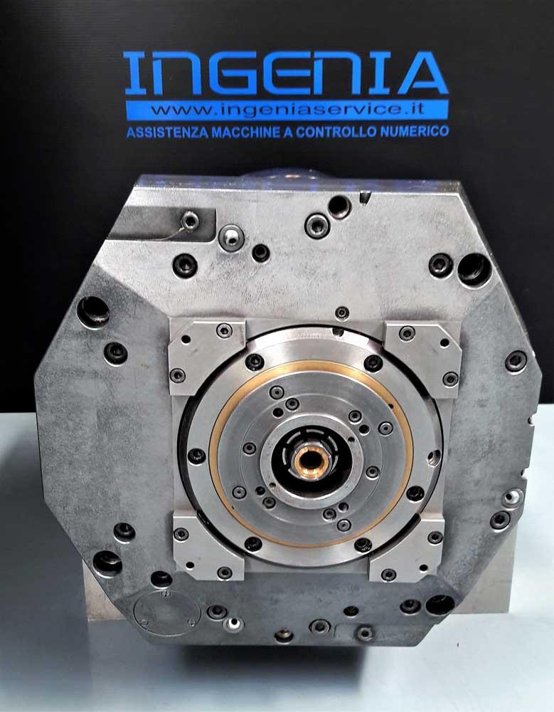 Revisione testa JOBS con elettromandrino 40KW 10.000 RPM © Ingenia
