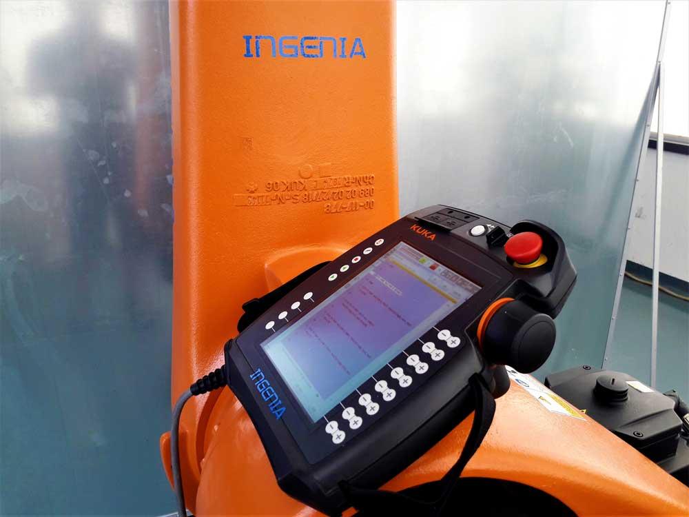 Smart Pad KUKA © Ingenia