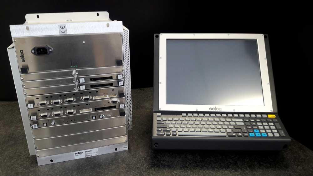 Unità video Selca VTC 4000UH e CNC Selca S4040R © Ingenia