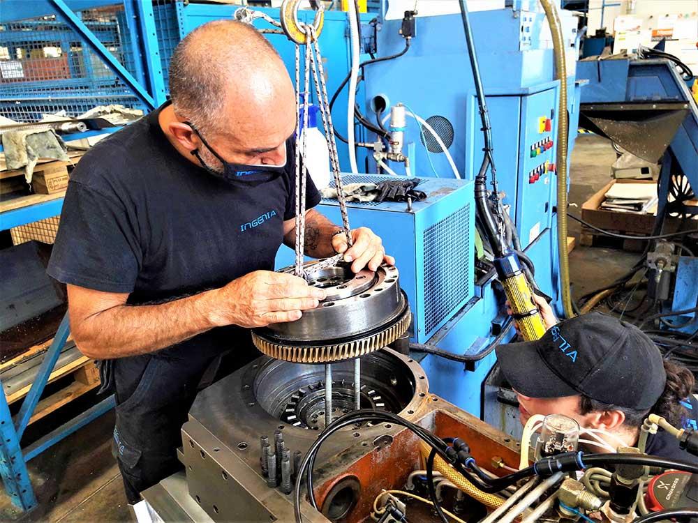 © Ingenia Rimini - Attività: meccanica