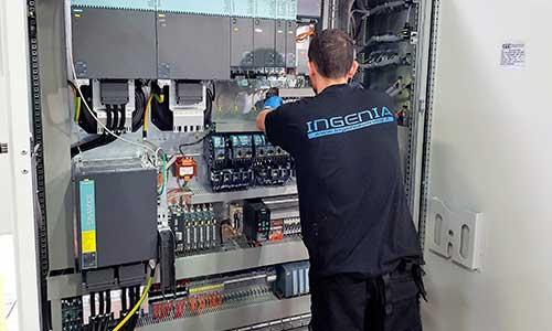 Ingenia - Attività: Elettronica - cablaggi e bordo macchina